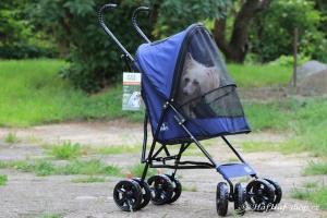 FOTO – Golfky pro psy od PET GEAR jsou vůbec tím nejskladnějším kočárkem pro psy na trhu. Jsou ideální pro štěňata a nejmenší psí plemena do 7 kg váhy (2).