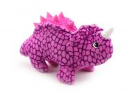Plyšová hračka pro psy od CAMON – dinosaurus. Příjemný měkoučký materiál, při stisknutí píská, délka 26 cm. (2)