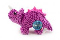 Plyšová hračka pro psy od CAMON – dinosaurus. Příjemný měkoučký materiál, při stisknutí píská, délka 26 cm.
