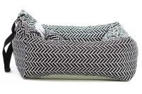 Autosedačka pro psy – pelíšek pro pohodlné cestování a ochranu autosedadel před psími chlupy, nečistotami a poškozením. Extra jednoduchá instalace, včetně polštářku. (3)