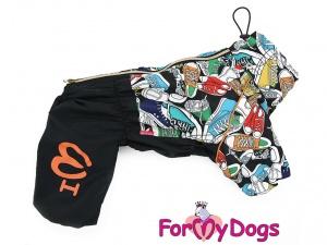 Obleček pro psy – pláštěnka FMD, nový super komfortní a funkční model SNEAKERS (3)