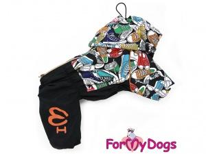 Obleček pro psy – pláštěnka FMD, nový super komfortní a funkční model SNEAKERS (2)