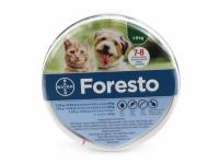 Antiparazitní obojek pro malé psy a kočky s účinností až 8 měsíců. Odpuzuje a hubí blechy a klíšťata i ve vývojových stádiích. Voděodolný, bez zápachu. (2)