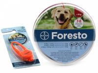 Antiparazitní obojek pro psy nad 8 kg s účinností až 8 měsíců. Odpuzuje a hubí blechy a klíšťata i ve vývojových stádiích. Voděodolný, bez zápachu.
