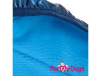 Obleček pro psy i fenky malých až středních plemen – stylová pláštěnka BLUE JACKET od ForMyDogs. Zapínání na sponu, hladká podšívka. (7)