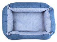 Chladící pelíšek je ideální řešení, jak zajistit svým psům klidný spánek a odpočinek i za těch nejparnějších letních dnů, modrý (pohled shora)
