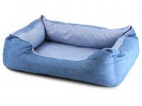 Chladící pelíšek je ideální řešení, jak zajistit svým psům klidný spánek a odpočinek i za těch nejparnějších letních dnů. Modrý.