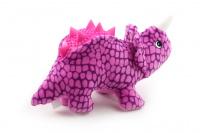 Plyšová hračka pro psy od CAMON – dinosaurus. Příjemný měkoučký materiál, při stisknutí píská, délka 26 cm. (3)