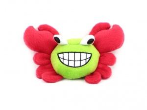 Roztomilá plyšová pískací hračka pro psy od URBAN PUP – krab