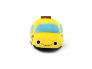 Roztomilá plyšová pískací hračka pro psy od URBAN PUP – žluté auto (2)