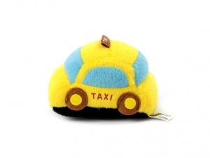 Roztomilá plyšová pískací hračka pro psy od URBAN PUP – žluté auto (3)