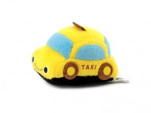 Roztomilá plyšová pískací hračka pro psy od URBAN PUP – žluté auto