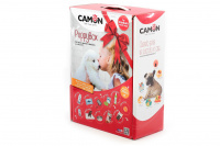 Sada kompletní výbavy pro štěňata středních plemen v luxusním dárkovém balení od italské značky CAMON.