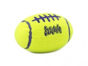 Pískací hračka pro psy KONG Air Dog ve tvaru rugbyového míče (pohled 2)
