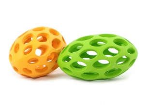 Gumová barevná hračka pro všechny velikosti psů i pro štěňata (3)