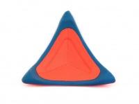 Létající talíř pro psy se speciálním prohnutým tvarem, díky kterému pomalu nabírá výšku (oranžový 3)