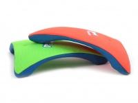 Létající talíř pro psy se speciálním prohnutým tvarem, díky kterému pomalu nabírá výšku (oranžový 5)