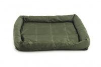 Voděodolná matrace pro psy vhodná pro domácí použití i jako podložka do auta. Odolný prošívaný materiál, výběr velikostí. Barva zelená. (4)