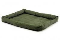Voděodolná matrace pro psy vhodná pro domácí použití i jako podložka do auta. Odolný prošívaný materiál, výběr velikostí. Barva zelená. (5)