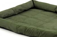 Voděodolná matrace pro psy vhodná pro domácí použití i jako podložka do auta. Odolný prošívaný materiál, výběr velikostí. Barva zelená. (6)