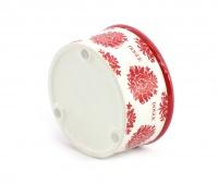 Nádherná keramická miska pro psy s květinovým designem. Velikost je ideální pro malá plemena psů. (6)