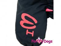 Obleček pro psy – zateplený zimní overal COLOURFUL LEAVES od ForMyDogs. Vylepšené zapínání na zádech, odnímatelná kapuce, flísová podšívka. (6)