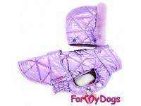 Obleček pro psy i fenky malých až středních plemen – zimní bunda LILIAC od ForMyDogs. Barva fialová. (3)