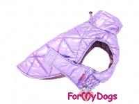 Obleček pro psy i fenky malých až středních plemen – zimní bunda LILIAC od ForMyDogs. Barva fialová. (4)