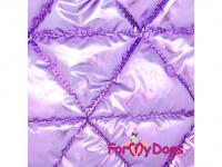 Obleček pro psy i fenky malých až středních plemen – zimní bunda LILIAC od ForMyDogs. Barva fialová. (6)