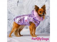 Obleček pro psy i fenky malých až středních plemen – zimní bunda LILIAC od ForMyDogs. Barva fialová. (FOTO 3)