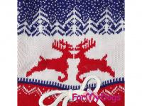 Obleček pro psy i fenky – pletený overal ForMyDogs RED REINDEER ze 100% akrylu pro ochranu před chladnějším suchým počasím. (3)