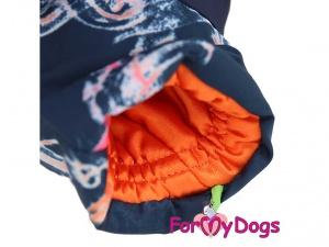 Obleček pro fenky – multicolor overal od FMD, detail
