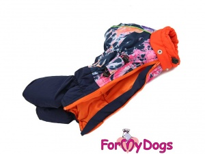 Obleček pro fenky – multicolor overal od FMD (2)