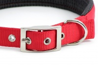Obojek pro velké psy ROSEWOOD Soft Protection z vysokopevnostního nylonu s bohatým polstrováním a klasickým zapínáním. Výběr velikostí. (4)
