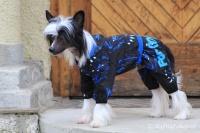 FOTO – Obleček pro psy i fenky – overal TIGER BLACK (2)
