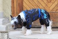 FOTO – Obleček pro psy i fenky – overal TIGER BLACK