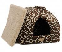 Heboučký uzavřený pelíšek z kolekce luxusních pelechů pro psy, kočky, štěňata a koťata z nejkvalitnějších materiálů. (7)
