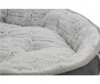 Měkoučký pelíšek pro psy malých a středních plemen z extra jemných materiálů vystlaný měkkou kožešinkou. (2)