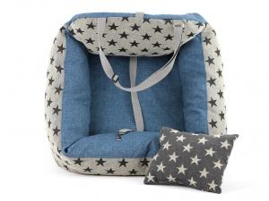 Autosedačka pro psy – pelíšek pro pohodlné cestování a ochranu autosedadel před psími chlupy, nečistotami a poškozením (4)