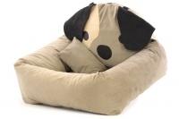 Autosedačka pro psy – pelíšek pro pohodlné cestování a ochranu autosedadel před psími chlupy, nečistotami a poškozením. (2)