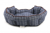 Pelíšek pro psy ROSEWOOD dostupný v několika velikostech. Pevný prošívaný materiál, měkké nadýchané bočnice, barva modrá. (6)