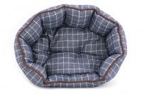 Pelíšek pro psy ROSEWOOD dostupný v několika velikostech. Pevný prošívaný materiál, měkké nadýchané bočnice, barva modrá. (7)