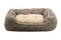 Extra nadýchaný a pohodlný pelíšek pro psy od ROSEWOOD. Materiál tvíd s kožíškem, vyjímatelný oboustranný polštář, možnost praní v pračce. (3)