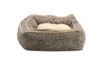 Extra nadýchaný a pohodlný pelíšek pro psy od ROSEWOOD. Materiál tvíd s kožíškem, vyjímatelný oboustranný polštář, možnost praní v pračce. (5)