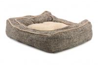 Extra nadýchaný a pohodlný pelíšek pro psy od ROSEWOOD. Materiál tvíd s kožíškem, vyjímatelný oboustranný polštář, možnost praní v pračce. (6)