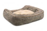 Extra nadýchaný a pohodlný pelíšek pro psy od ROSEWOOD. Materiál tvíd s kožíškem, vyjímatelný oboustranný polštář, možnost praní v pračce. (7)