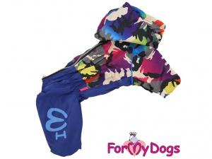 Pláštěnka pro psy od FMD – nový super komfortní a funkční model COLOURFUL CAMOUFLAGE (2)