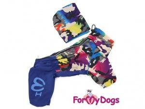 Pláštěnka pro psy od FMD – nový super komfortní a funkční model COLOURFUL CAMOUFLAGE