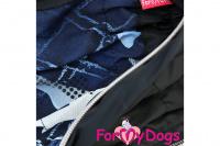 Obleček pro psy malých až středních plemen – lehoučká pláštěnka BLUE od For My Dogs. (2)