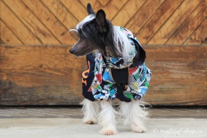 FOTO – Obleček pro psy – pláštěnka FMD, nový super komfortní a funkční model SNEAKERS
